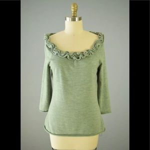 Anthropologie Moth New Day Haze wool sweater